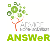 logo: Advice North Somerset ANSWeR