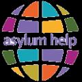 Text logo: Asylum Help