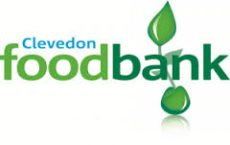 Text logo: Clevedon Foodbank