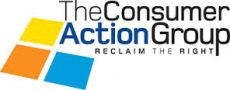 Text logo: Consumer Action Group