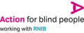 Text logo: Action for Blind People