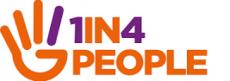 logo: 1 in 4
