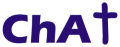 Text logo: Chaplaincy About Town