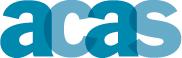 Text logo: ACAS