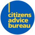 Text logo: Citizens Advice Bureau