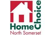Text logo: HomeChoice North Somerset