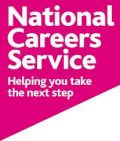Text logo: National Careers Service