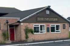 Text logo: The Nightjar Pub