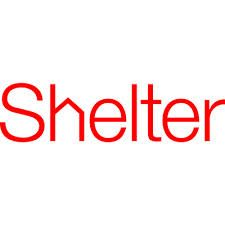 text logo: Shelter