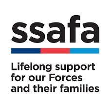 Text logo: SSAFA