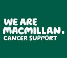 Text logo: We are Macmillan Cancer Support