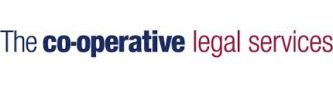 Logo text: Co-operative legal services