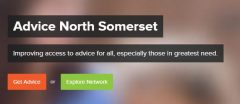 Photo: Advice North Somerset homepage