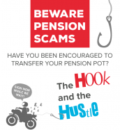 Graphic: beware pension scams