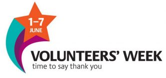 logo: volunteers' week