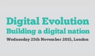 Logo: digital evolution 2015